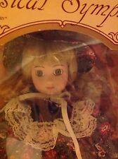 """Porcelain Doll Classical Symphony genuine porcelain 16"""" Jocelyn doll"""