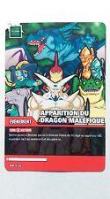 Carte Dragon ball Z Apparition du dragon maléfique DB-636