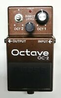 BOSS OC-2 Octave Guitar Effects Pedal 1990 #287 Free Shipping