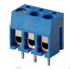 Printklemme 3-polig, 1-reihig gerade RM5mm, Printmont Degson DG300-5.0-03 4St.