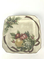 222 Fifth Plate Yuletide Celebration Appetizer Hors D'oeuvres Christmas Fruit