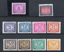 FRANCOBOLLI 1955 REPUBBLICA SEGNATASSE STELLE MNH D/9589