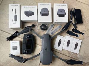 DJI Mavic Pro Drone M1P Quadcopter battery, Charging Hub, Charger, Accessory lot