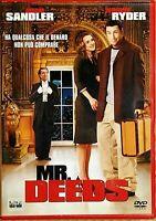 MR. DEEDS (2002) di Steven Brill - con Adam Sandler - DVD EX NOLEGGIO - COLUMBIA