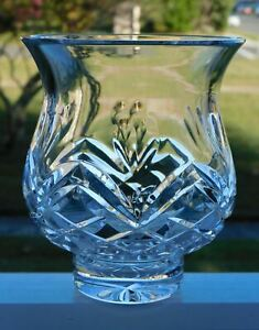 WATERFORD CRYSTAL WITH LOVE HURRICANE VOTIVE CANDLE LAMP