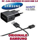 CARICABATTERIA + CAVO USB 2.0 SAMSUNG ORIGINALE GALAXY S6 S6EDGE ETA-U90EWE N.