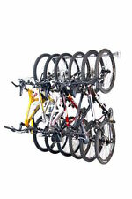 New Monkey Bars Storage 01006 6-Bike Vertical Garage Wall Mounted Bicycle Rack