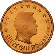[#461828] Luxemburg, 5 Euro Cent, 2003, FDC, Copper Plated Steel, KM:77