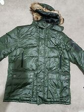 Rainforest ridgebille Abrigo, Color: Hunter, Tamaño: 2XL
