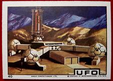 UFO - ANGLO (1970) - Card #40 - Moonbase - Individual Trading Card