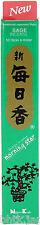 NIPPON KODO Morning Star - Encens Japonais - SAUGE 50 bâtons + porte-encens