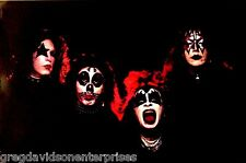Kiss 24x36 Early Years Group Poster Peter Criss W/ Alternate Make Up