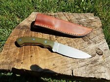 Handmade Custom Hunting Bushcraft Camping Survival Knife USA Made EDC