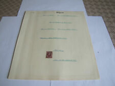 9 Album Pages of Belgium Stamps MINT/USED