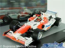 TOYOTA TF104B RACING CAR MODEL 1:43 SIZE FORMULA ONE 1 IXO ZONTA BRAZIL 2004 T3