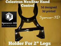 "Celestron NexStar Telescope 2"" Tripod Leg Hand-Control Holder NEW!"