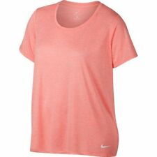 Nike Dry Legend Plus Size Womens Shirt Top 1x  atomic pink SALE limited time
