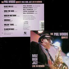 PHIL WOODS QUINTET  mile high pass  LIVE IN DENVER 96