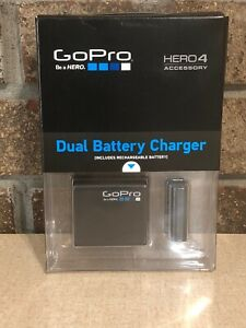 GoPro  Dual Battery Charger + Battery for HERO4 Accessory