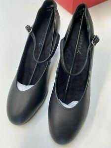 "Capezio 656 Leather 3"" Theatrical Footlight Pro Dance Shoe Stage Theatre"