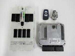 BMW F20 F21 120D F22 220D F30 F31 320D N47N ENGINE ECU KIT DME MODULE WITH KEY