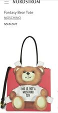 Moschino Teddy Bear 2-way Tote Bag - must have and sold out item! Last price!