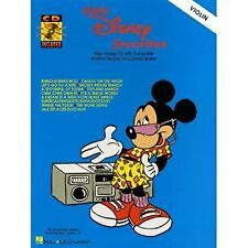 Easy Disney Favorites Violin Book & Play-Along CD B23