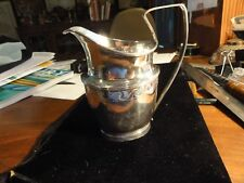 An Important, American Colonial Silver Cream Jug~ROBERT EVANS, Boston~Circa 1780