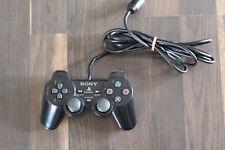 Original Sony Playstation 2 PS2 Dualshock 2 Controller schwarz