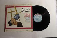 MARIO NASCIMBENE Francis Of Assisi Soundtrack LP 20th Fox 3053 US VG+ 14A/A