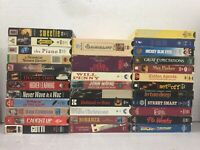 Lot of 33 VHS Tapes - Drama, Classics, Indie LOT 23
