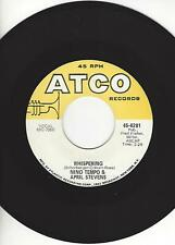 "NINO TEMPO & APRIL STEVENS- ""WHISPERING""/ ""TWEEDLEE DEE""- ATCO- EXCELLENT COND."