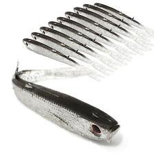 5*STK Künstlich Weich Fischform Köder Fischen fangen Angeln Fischköder Werkzeug