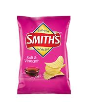Smith's Crinkle Cut Salt & Vinegar Chips 170g case of