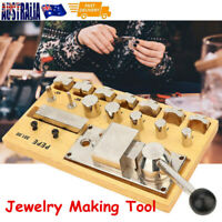 WOODEN Ring Bender Tool Bending JEWELLERS Kit | HEAVY DUTY