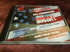 The Original All-American SOUSA! on CD DELOS! Like new, ships super fast.