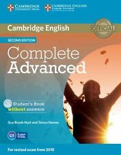 Complete: Complete Advanced Student's Book Without Answers with CD-ROM by Guy...