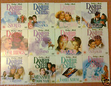 DANIELLE STEEL COMPLETE SET OF TWELVE DAILY MAIL PROMO DVD's(FREE UK POST)