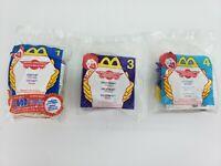Transformers CHEETOR MEGATRON JETSTORM Lot of 3 Happy Meal Toys McDonald's NIP
