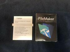 FileMaker Pro 17 Advanced License Key Card for Mac & Windows, FULL VERSION