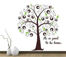 Family Tree Quotes Wall Stickers Home Bedroom Decal Vinyl Decor Baby Room