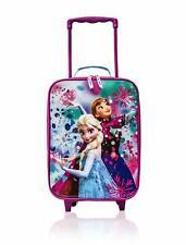 NEW Disney Frozen Anna Elsa Rolling Trolley Luggage for kids - 16 Inch