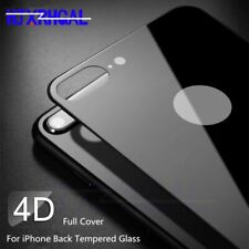 4D back Tempered Glass For iPhone X XR XS Max 10 Full Cover Screen Protector