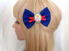 Sailor moon hair bow clip rockabilly pin up girl Venus Mercury Jupiter anime