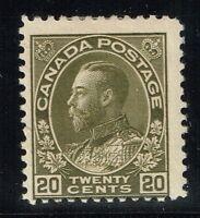 Canada Scotts# 109 - Mint Hinged - Lot 122015