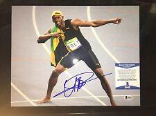 Usain Bolt Signed 2016 RIO Olympics 11x14 Photo 9 Gold Medals Jamaica Beckett