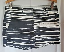 New York & Company 7th Avenue Suiting Collection Zebra Print Shorts Sz.6