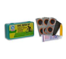 Kit Reparacion de Pinchazos Ruedas Camaras de Bicicleta y Moto 9 Piezas 3762