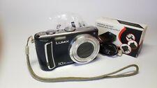 Panasonic Lumix Blue DMC-TZ4 10x Zoom 8.1MP Leica Digital Superzoom Camera