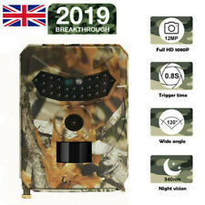 Hunting Trail Camera Wildlife Cam HD 12MP 1080P Waterproof Night Vision PIR LED